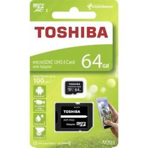 Microsdxc Memory Card Toshiba M203 Card CL 10 Card 16GB 32GB 64GB 128GB 256GB