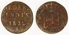 DUTCH EAST INDIES (ISLAND OF SUMATRA) - 1822-S 1/8 Stuiver