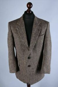 Harris Tweed Vintage Blazer Jacket Size L / UK40 / EU50 / IT50