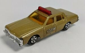 Vintage Ertl Smokey & the Bandit Police Car - 1980 Pontiac Bonneville 029