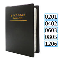 8500Pcs 170 Values 0201 0402 0603 0805 1206 SMD Chip Resistor Sample Book Kit