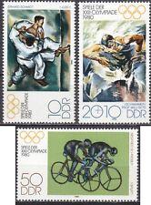 DDR Mi.-Nr. 2528-2530 postfrisch Olympische Sommerspiele in Moskau (II)