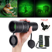 Day Night 40X60 HD Hunting Monocular Powerful BAK-4 Hiking Camping Telescope US