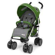 Poussettes et systèmes combinés de promenade verts panier pour bébé