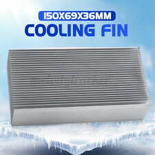 More details for large aluminium radiator heatsink heat difuse sink cooling fin 150x69x36mm