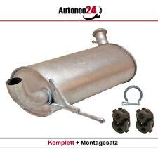 Auspuff Endschalldämpfer Peugeot 407 Stufenheck Kombi SW 2.0 mit Montagesatz