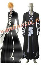 ! lo último! Anime Bleach Ichigo Kurosaki Bankai Conjunto Juegos con disfraces Disfraz Conjunto Completo