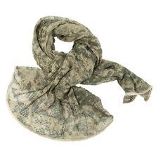 Army Scrim Net Scarf Military Sorgo Tactical Face Veil Airsoft ACU Digital Camo