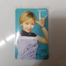 Twice Skoolooks Ver.1 JEONGYEON JEONG-YEON Official Photo Card Photocard K-POP