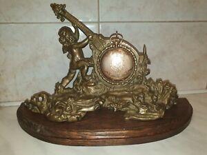Antique  Brass  Pocket Watch Holder Stand