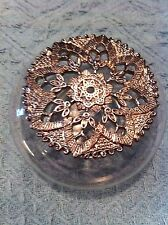 NOS AVON HAMPTON GARDENS THE SCENTED HOME COLLECTION POTPOURRI DISH W/PEWTER LID