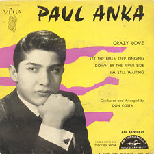 PAUL ANKA Crazy Love Let The Bells Keep Ringing Down By FR Press Abc 4590839 EP