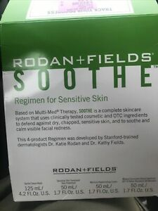 Rodan + Fields Soothe Regimen - New In Box.  Expired On 10/2018