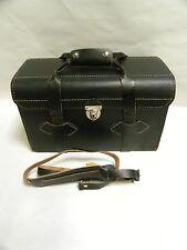 Vintage Retro Genuine Leather Camera Messenger Bag Made In USA (A20)