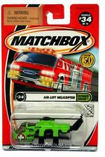 2002 Matchbox #34 Ultimate Rescue Air-Lift Helicopter with LOGO