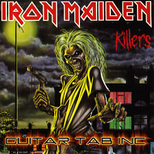 Iron Maiden Digital Guitar Tab KILLERS Lessons on Disc Murray Addrian Smith