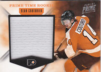 11-12 Panini Prime Sean Couturier /99 Jersey Prime Time Rookie