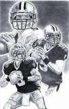 Drew Brees New Orleans Saints poster picture print art