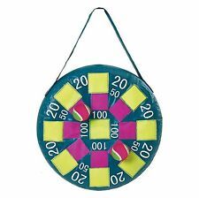 Inflatable Target Dart Ball Game Family Garden Outdoor Indoor Party Velcro Balls