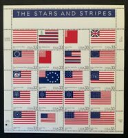US Scott #3403 The Stars and Stripes Flags Mint Sheet Never Hinged MNH SCV $15