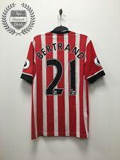 Ryan Bertrand Match Worn Southampton home football shirt 2016/2017 Medium