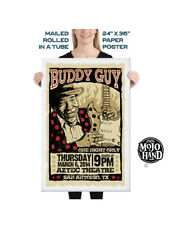 "Giant 24""x36"" Buddy Guy Blues 2014 concert poster on paper"