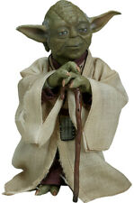 STAR WARS: Empire Strikes Back - Yoda 1/6th Scale Action Figure (Sideshow) #NEW