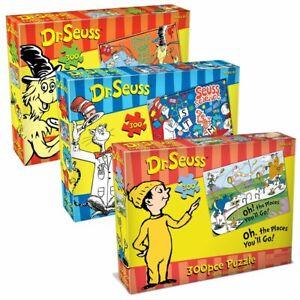 Dr Seuss 300 piece jigsaw Puzzle Randomly Selected