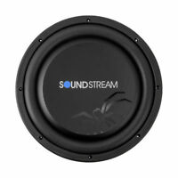"SOUNDSTREAM 600W 12"" Single 4 ohm Shallow Mount Car Subwoofer 