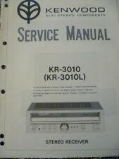 Kenwood KR-3010  /  KR-3010L  Stereo Receiver Service Manual