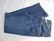 7 For All Mankind Women's Factory Dist. Low Rise Boot Cut Jeans Made USA Sz 27