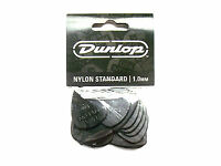 12 Dunlop Nylon Picks Plektren 1,00 mm Plektrum Hang Bag