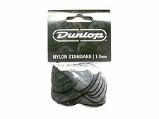 12 Dunlop Nylon Picks médiators 1,00 mm Plectre Hang sac