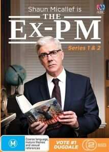 DVD THE EX-PM SHAWN MICALLEF SERIES ONE 1 & SERIES 2/ 2 DISC BRAND NEW UNSEALED