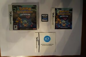 Pokemon Mystery Dungeon Blue Rescue Team nintendo ds game PAL EUR 2006 complete