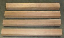 """Four 3 X 3 (nominal) X 31"""" Walnut Blanks for Turning or Tapering Table Legs"""