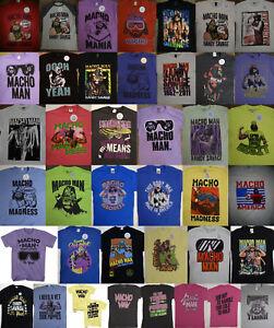 Macho Man Randy Savage Wrestling T-Shirt