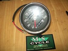 Vintage Motorcycle Gauge -  Speedometer for Triumph T120/T140