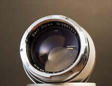 Contarex Carl Zeiss Sonnar 85MM F2 Lens - Free S/H