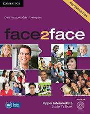 Face2face Upper Intermediate Student's Book with DVD-ROM by  | Paperback Book |