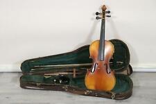 Geige mit Zettel Jan Dvorak datiert 1896 mit Koffer & Bogen (MÖ5187)