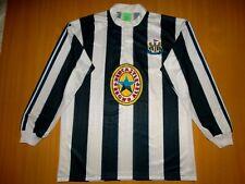RETRO NEWCASTLE UNITED 1995 1996 HOME LONG JERSEY SHIRT XL