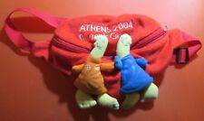 Athens 2004 Olympic Games Official Mascot Orange and Blu, Bag Around Waist