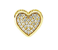 Genuine PANDORA Love ESSENCE Charm 14K Gold Vermeil 796084CZ
