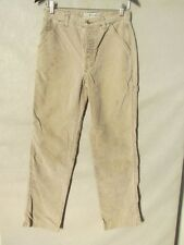 D9813 Abercrombie & Fitch Gray Corduroy High Grade USA Made Pants Women's 29x31