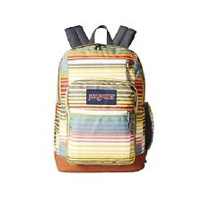 NEW - Authentic JanSport Womens Cool Student Backpack - Multi Sunset Stripe