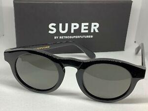 RetroSuperFuture 8XM Boy Black Frame Size 46mm Sunglasses NIB