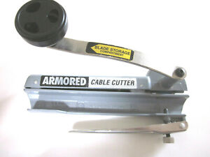 USED ONCE SOUTHWIRE ARMORED CABLE CUTTER - BX CABLE CUTTER - FREE SHIPPING!