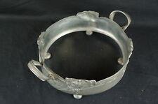 "Museum Quality Art Nouveau Pewter Serving Dish no insert 11""  [Y8-W8-A9]"