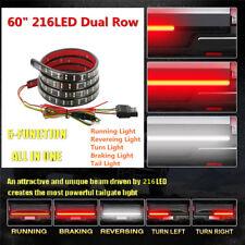 """60""""inch Flexible Truck LED Tailgate Light Bar Signal Brake Back Up Reverse Light"""